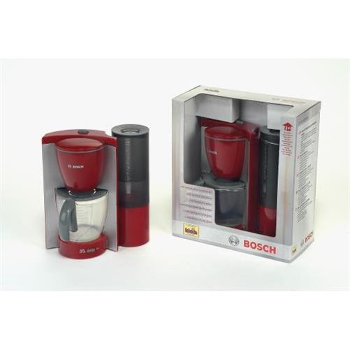 klein bosch kaffeemaschine rot grau spielzeug mit wassereinf llm glichkeit neu ebay. Black Bedroom Furniture Sets. Home Design Ideas