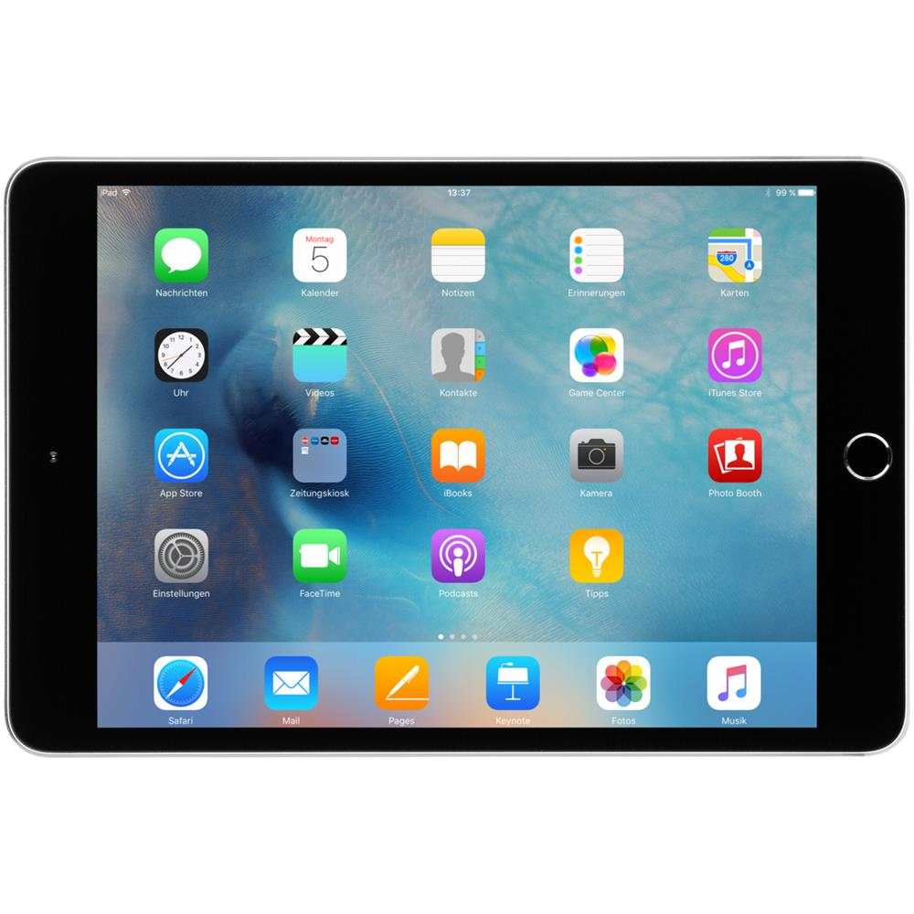 apple ipad mini 4 wi fi 128gb space gray mk9n2fd a ebay. Black Bedroom Furniture Sets. Home Design Ideas