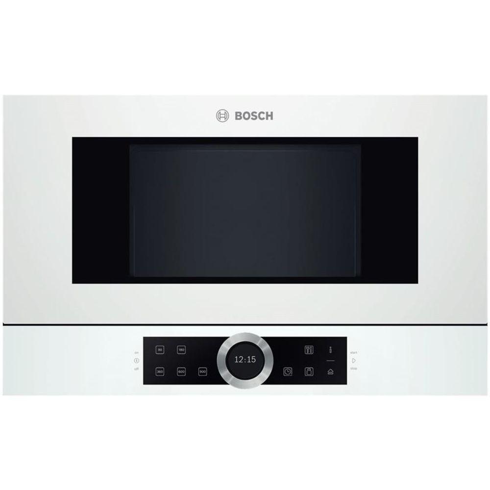 Bosch BFL634GW1 Weiß Einbau Mikrowelle Solo