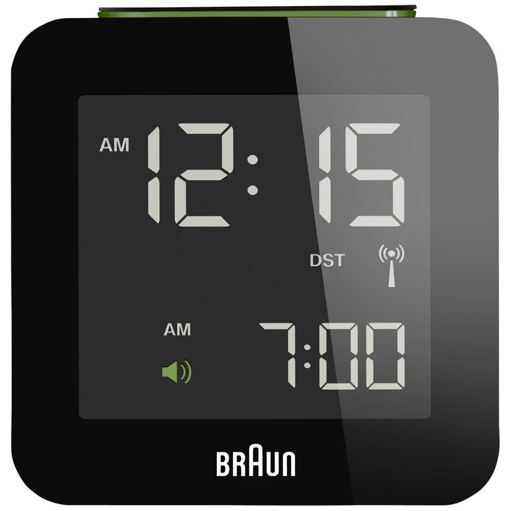 braun bnc 009 funkwecker multiband schwarz ebay. Black Bedroom Furniture Sets. Home Design Ideas