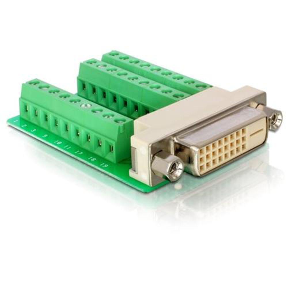 DeLock-Adapter-Terminalblock-27pin-gt-DVI-24-1-Bu-65169
