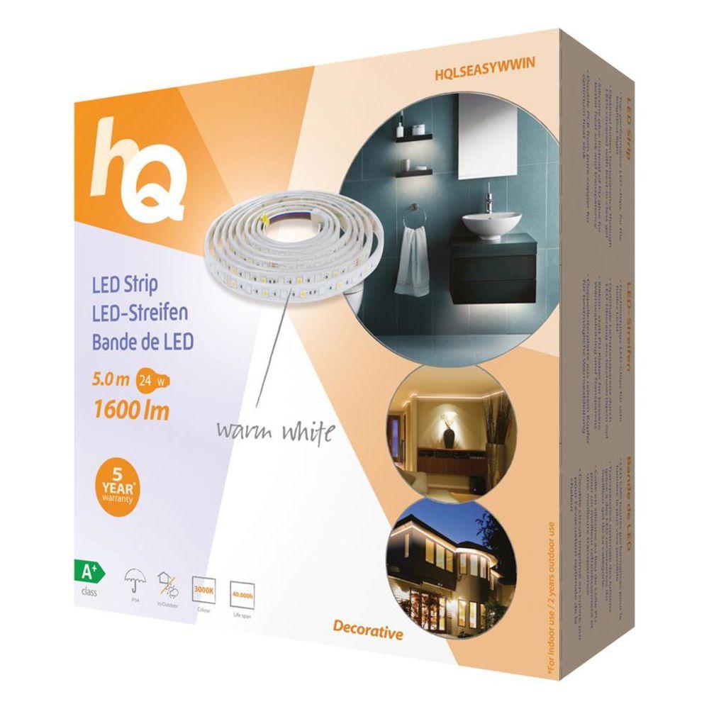 hq led streifen warmwei selbstklebend innen au enb ebay. Black Bedroom Furniture Sets. Home Design Ideas