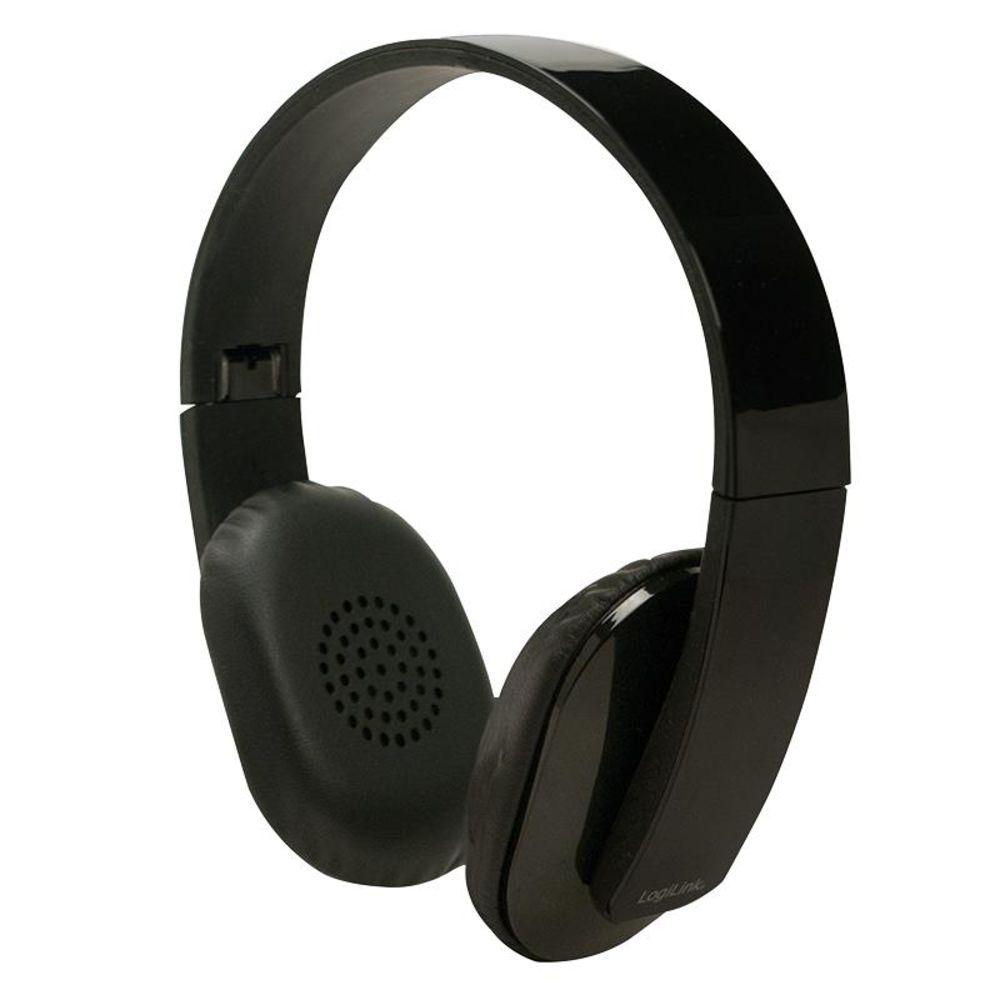 logilink bluetooth stereo headset mit mikrofon bt0030. Black Bedroom Furniture Sets. Home Design Ideas