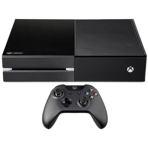 microsoft xbox one 500gb konsole ohne kinect spielekonsole. Black Bedroom Furniture Sets. Home Design Ideas