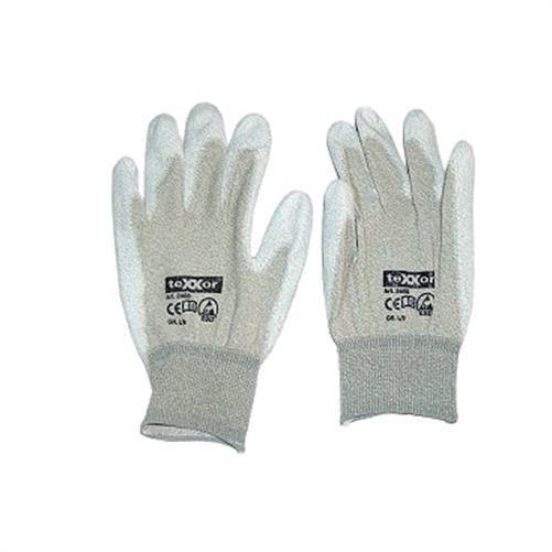 Handschuh-Kupferfaser-PU-beschichtet-L-ZUB-1220