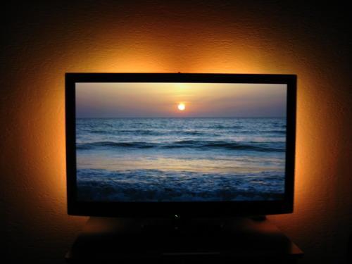 revoltec 2x 15 lichtleiste led lcd tv backlight set ambiente beleuchtung rm103 ebay. Black Bedroom Furniture Sets. Home Design Ideas