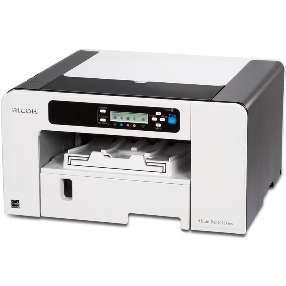 Ricoh Aficio Sg 3110dn Geljet Farbdrucker Ethernet Usb 250