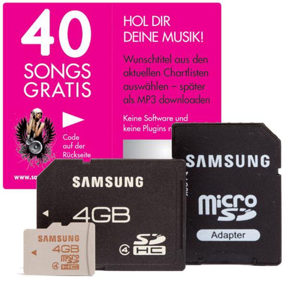 Zwei 4GB SD Karten von Samsung