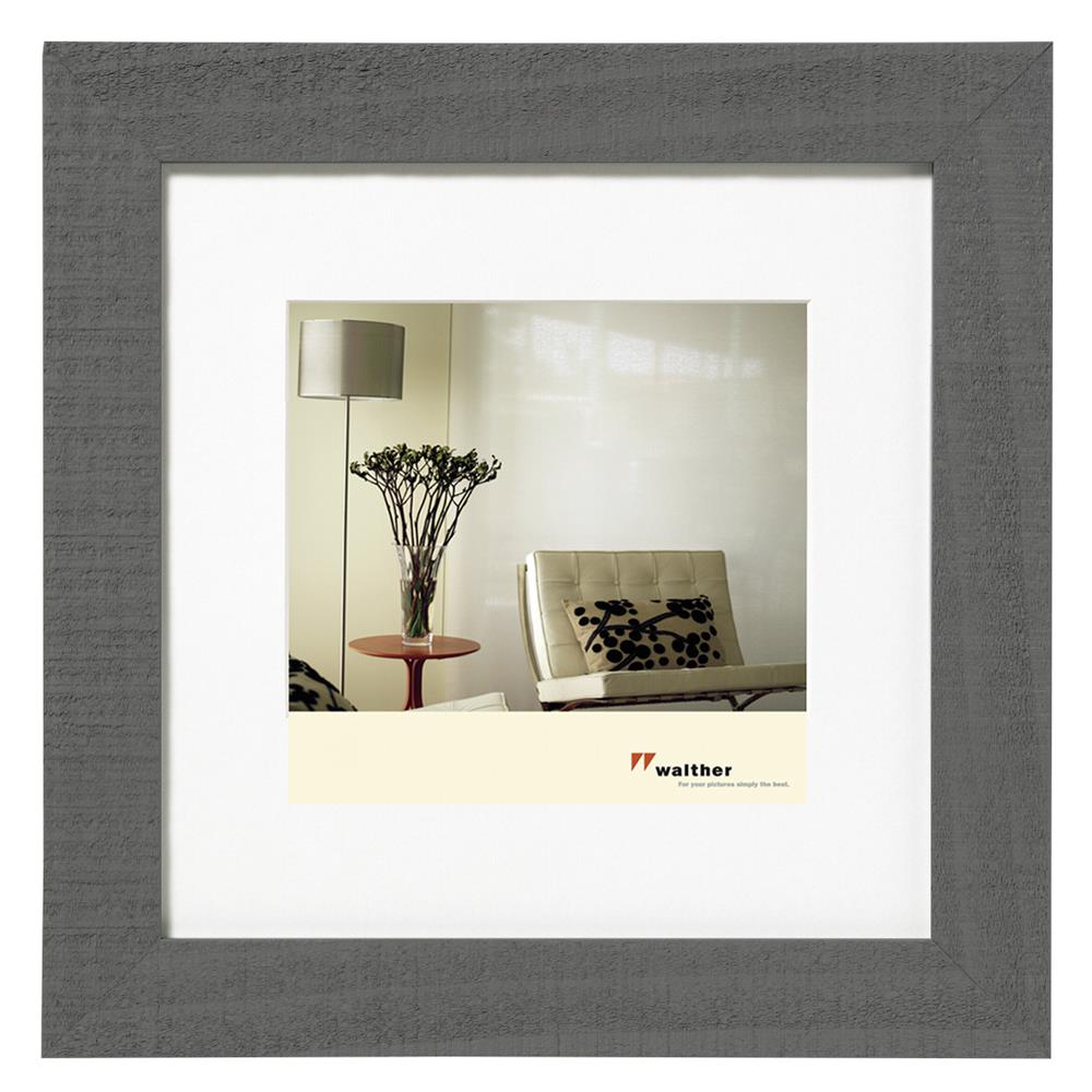 Walther home 30x30 holz grau ho330d ebay for Fenster 30x30