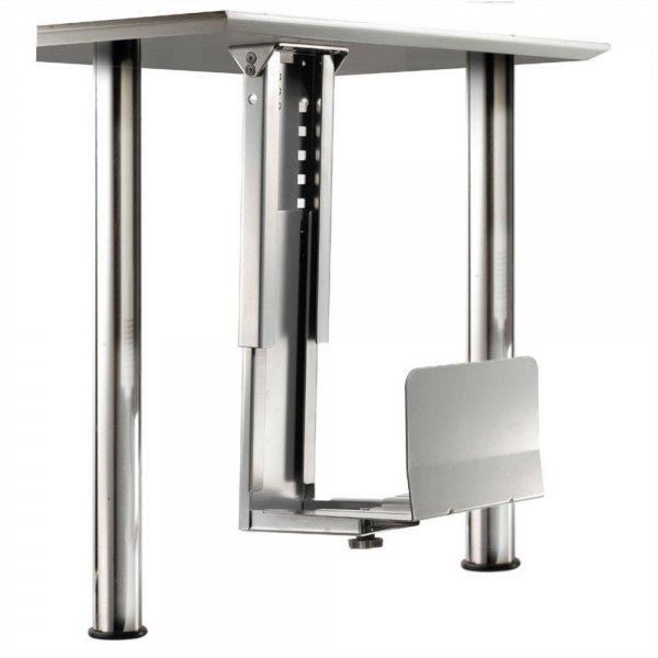 ROLINE PC-Halter/Halterung für Tischmontage Silber