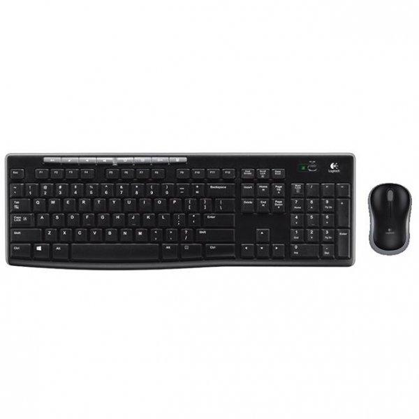 Logitech MK270 Wireless Combo Tastatur Maus DEU 2.4GHZ
