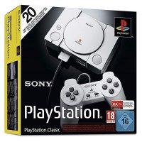 Sony PlayStation Classic Konsole Grau Mini-Nachbildung mit 20 kultigen Spielen