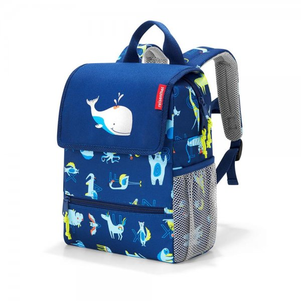 reisenthel backpack kids abc friends blue Kinder-Rucksack Freizeit Reisen Urlaub