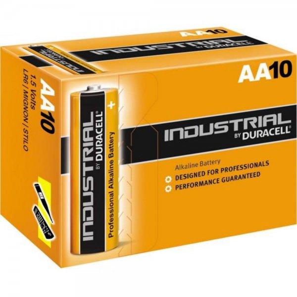 Duracell Industrial Alkaline Mignon-AA 1,5V 10er Pack