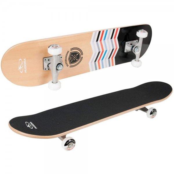 HUDORA Skateboard Torrance ABEC 5 Skateboarding Board ABEC 5 Ahorn
