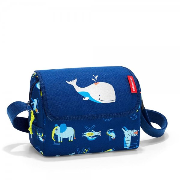 reisenthel everydaybag kids abc friends blue Umhängetasche mit Schultergurt für Kinder