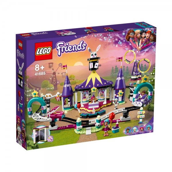 LEGO® Friends 41685 - Magische Jahrmarktachterbahn