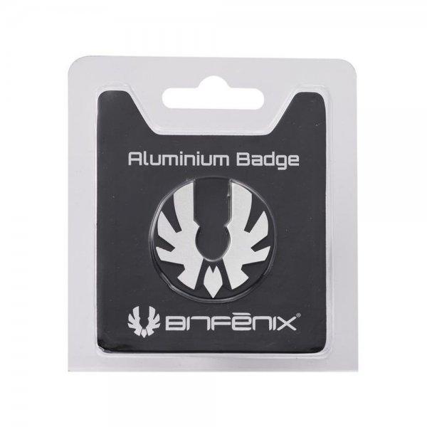 BitFenix Aluminium Logo für Prodigy Gehäuse - silber