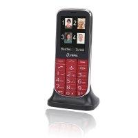 Olympia Joy II Großtasten-Mobiltelefon Rot Farb-LCD-Display Grosstastenhandy Seniorenhandy