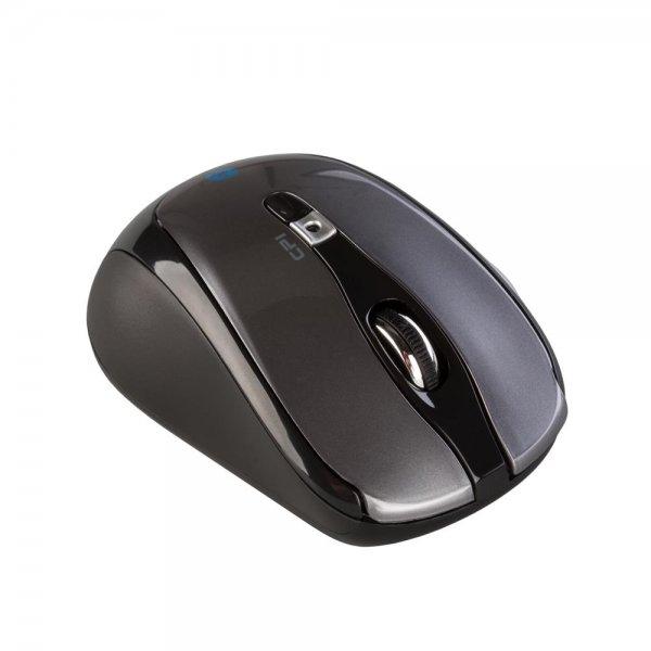 i-tec MW243-BLACK Bluetooth Travel Optische USB 3.0 6-Tastenmaus 1000/1600 DPI
