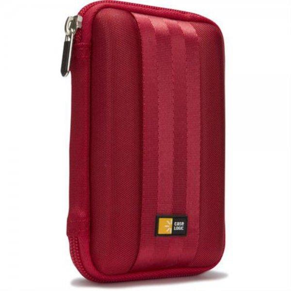 """Case Logic QHDC101R Tasche Etui Schutzhülle für 2,5"""" externe Festplatte Rot"""