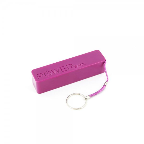 XLayer Zusatzakku Powerbank Colour Line Purple 2600mAh