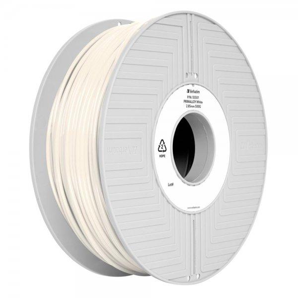 Verbatim 3D Printer Filament Primalloy 2,85 mm 500 g white