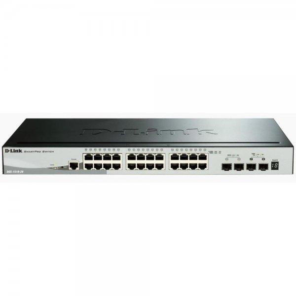 DLINK D-LINK 28-Port Smart Managed Gigabit Stack Switch # DGS-1510-28