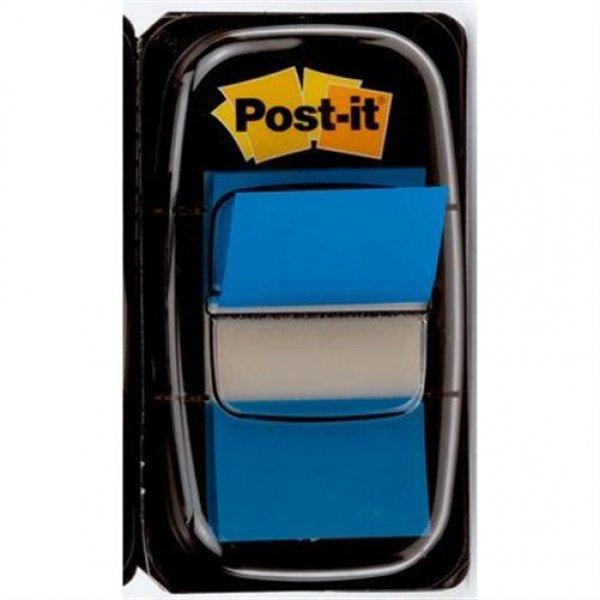 Post-it® Index 25,4 x 43,2 mm blau 1 x 50 Haftstreifen