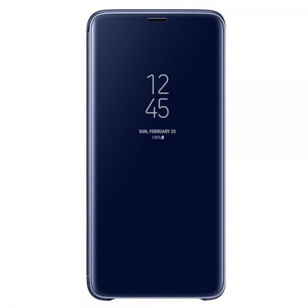 Samsung Clear View Standing Cover Galaxy S9+ blau