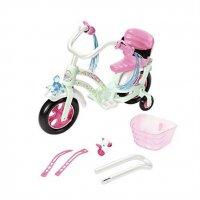 Zapf 827208 Baby Born Play & Fun Fahrrad Bike rosa weiß Mint