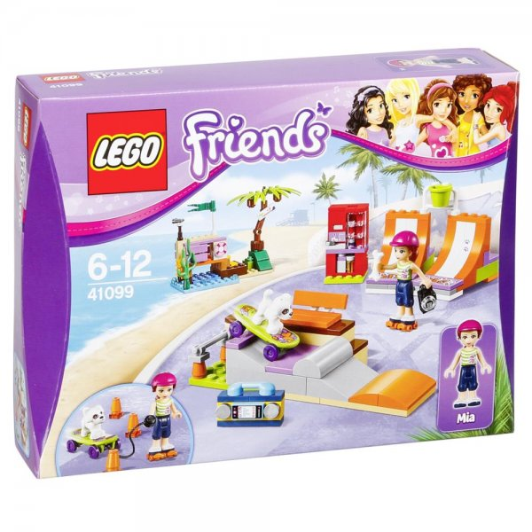 Lego 41099 - Friends-Heartlake Skatepark