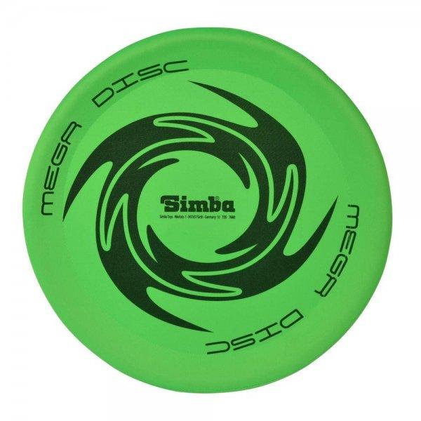 Simba Mega Flying Disc Wurfscheibe 44 cm Outdoor Garten Strand Spielzeug | 1 Stück zufällige Farbe