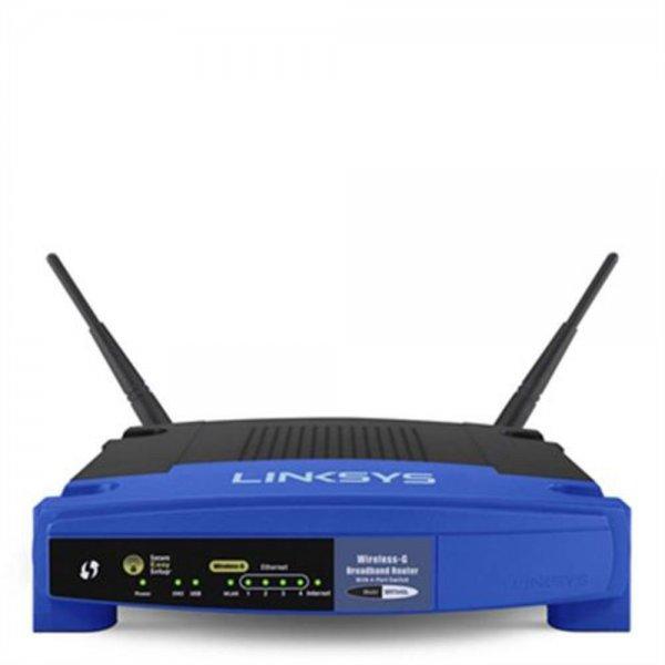 Linksys WRT54GL Wireless-G Router Accesspoint 4Port Switch