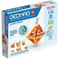 Geomag Classic Panels 35 Teile Magnetbausteine Magnetisches Konstruktionsspielzeug ab 5 Jahren
