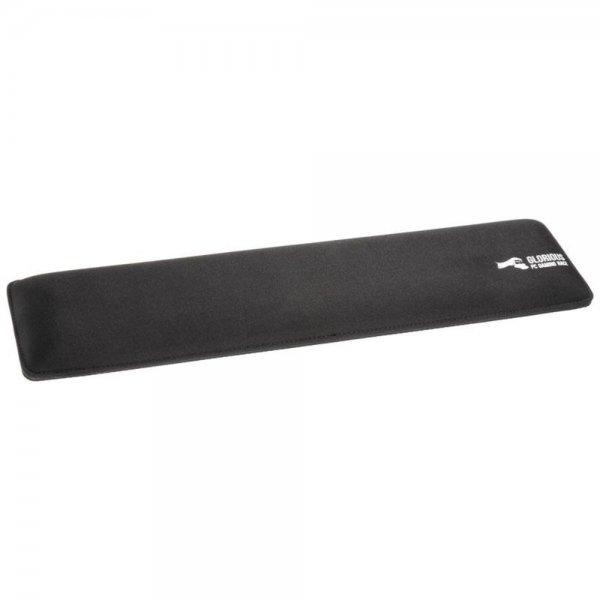 Glorious Handballenauflage Schwarz Handgelenkunterlage Stoff für Full-Size-Tastaturen
