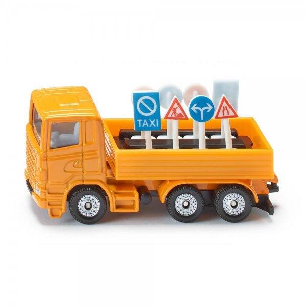 Siku 1322 - LKW mit Verkehrszeichen
