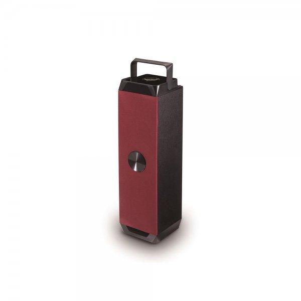 Conceptronic CSPKBTRC Bluetooth-2.0-Multimedialautsprecher 2x 3W Rot/Schwarz