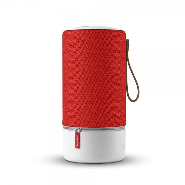 Libratone ZIPP Wireless Lautsprecher 360° Sound WLAN Bluetooth 100 Watt Rot/Weiß
