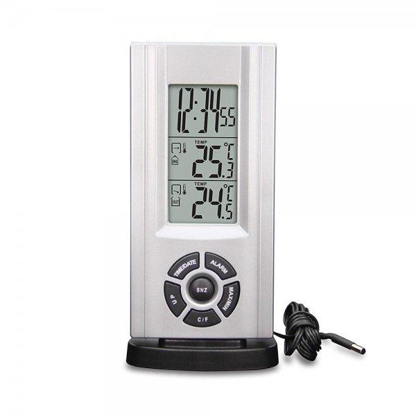 Technoline WS 7037 Wetterstation / Temperaturstation Außentemp. Sonde mit Kabel