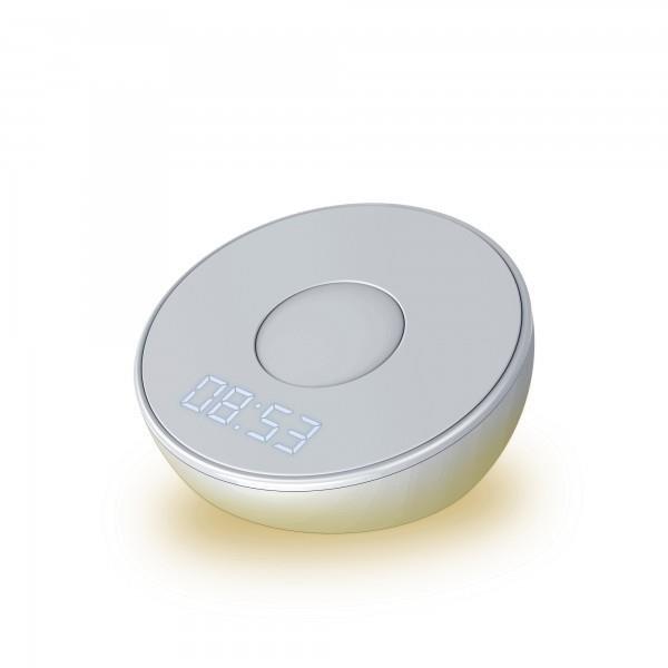 XLayer Ladegerät Wireless Charging Clock Light 10W Anthracite Smartphones/Tablets