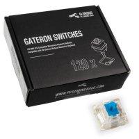 Glorious PC Gaming Race Gateron Blue Switches 120 Stück Tastenschalter Auslösedruck ca. 55 g