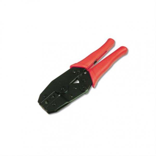 DIGITUS Crimpzange für Koaxialstecker BNC TNC UHF N RG58 RG59 RG62 5- 5,15 mm Coax Kabel