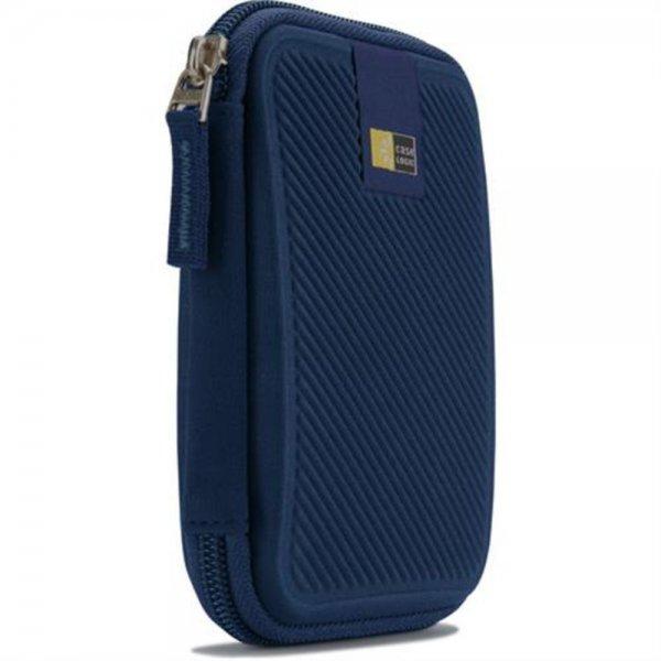 """Case Logic Case Hülle Etui Tasche für 2,5"""" externe Festplatte Blau #EHDC101B"""