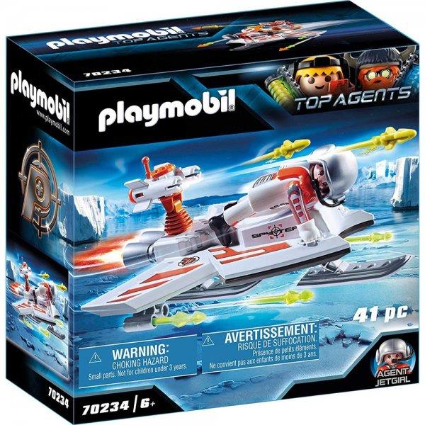 PLAYMOBIL TOP AGENTS 70234 Spy Team Fluggleiter ab 6 Jahren