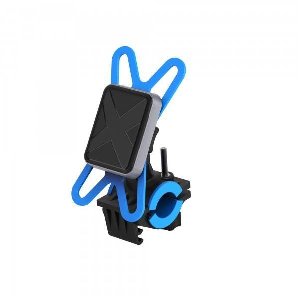 XLayer Fahrrad-Halterung magfix Magnethalterung Handyhalterung für Fahrräder & Motorräder Black