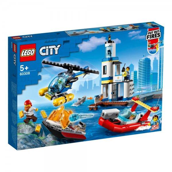 LEGO® City 60308 - Polizei und Feuerwehr im Küsteneinsatz