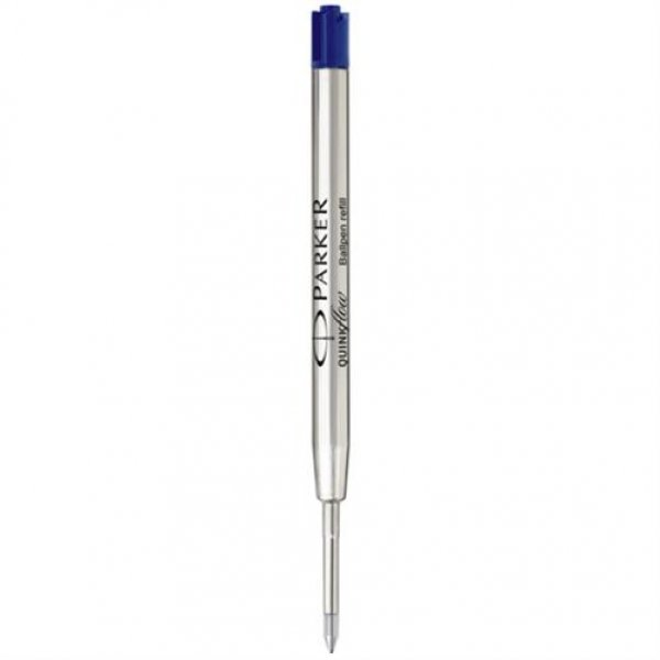 Parker Quinkflow Mine F blau Kugelschreiber Ersatzmine Kugelschreibermine