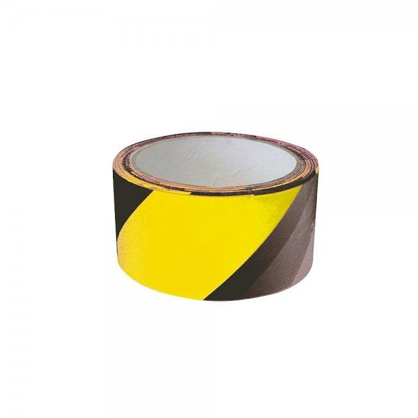 Absperrband schwarz-gelb 100m
