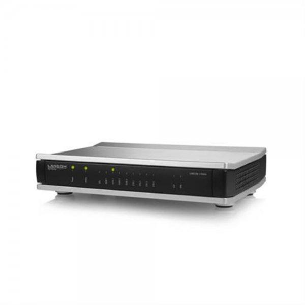 Lancom Systems 1784VA Eingebauter Ethernet-Anschluss Schwarz, Silber
